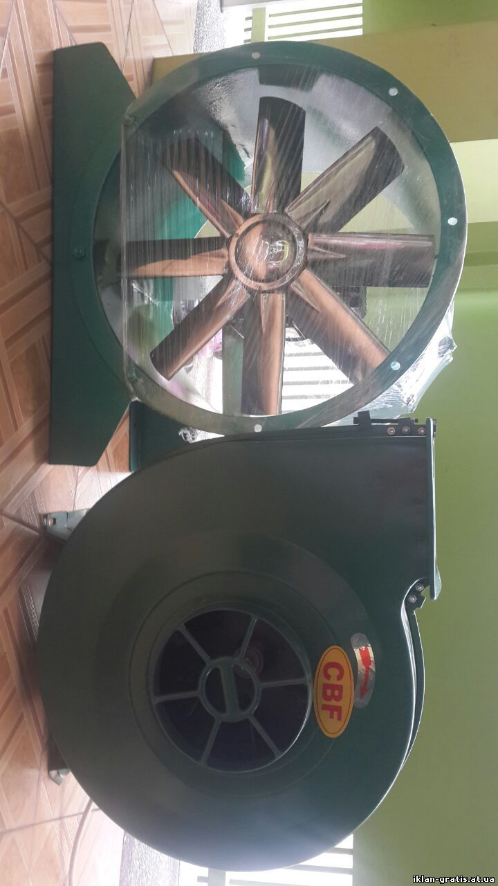 supplier pembuat axial industri fan