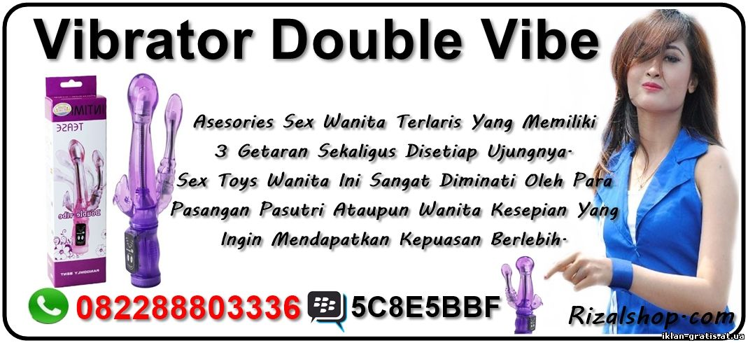 Asesories Sex Wanita ( Vibrator Double Vibe ) HP. 082288803336