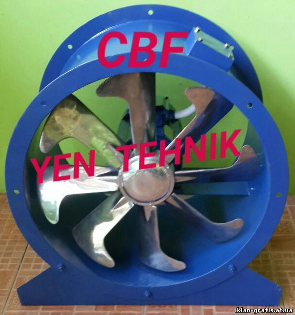 Supplier fan axial industri