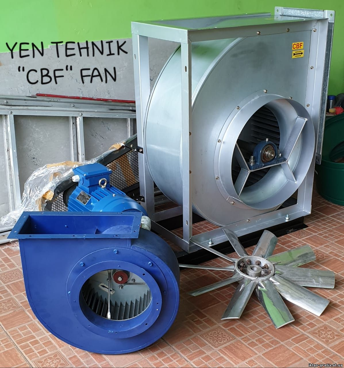 Fan centrifugal pully