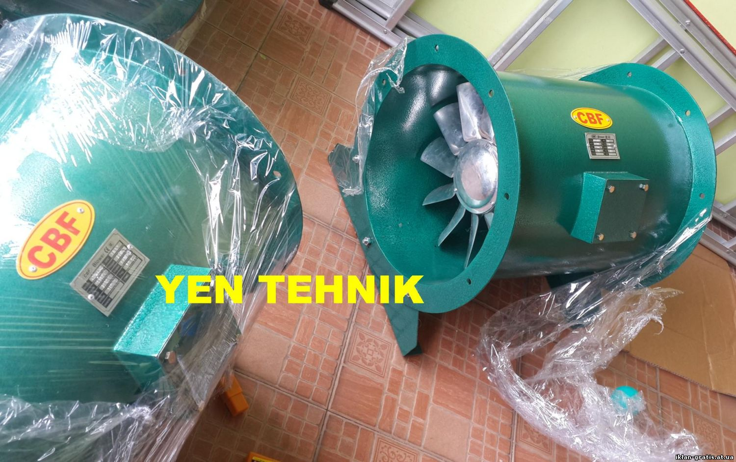 Produksi axial direct fan