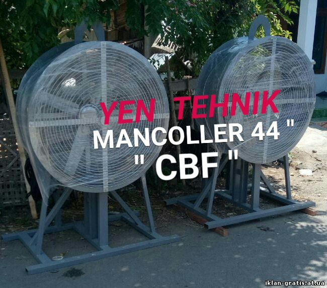Manufaktur fan industri dan ducting