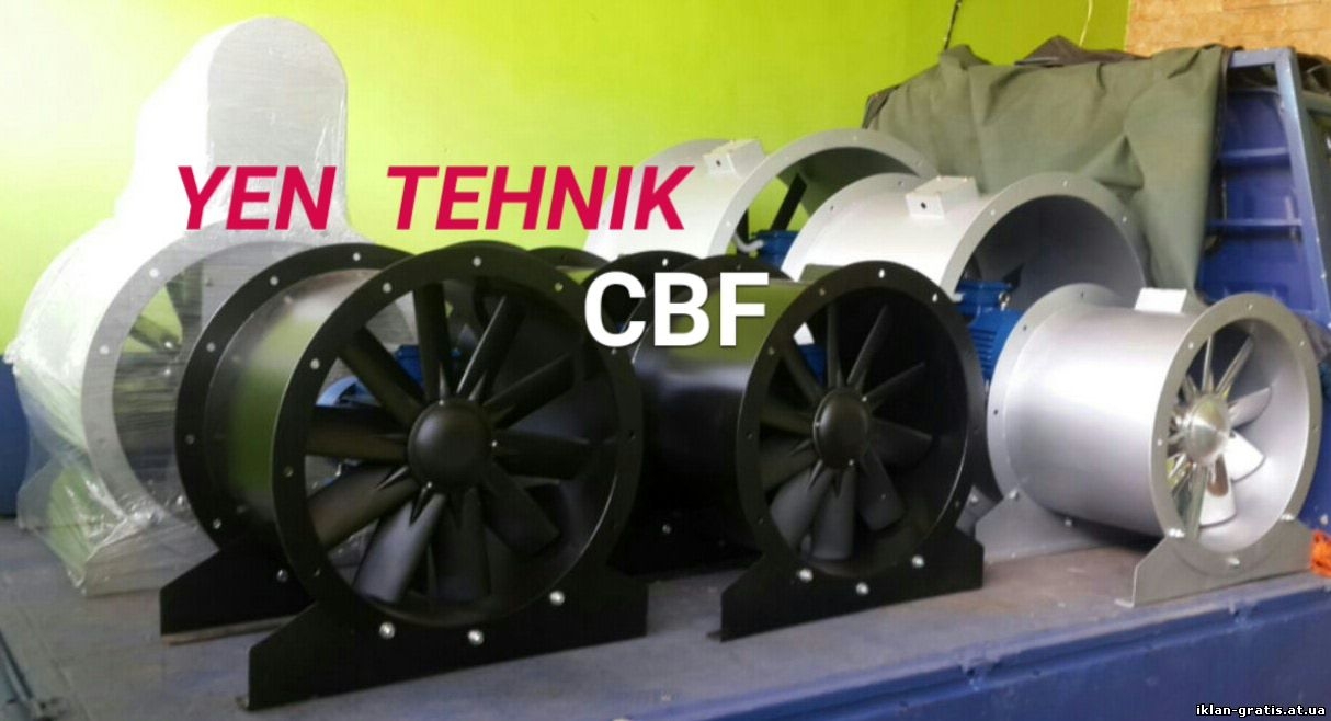Distributor fan axial direct
